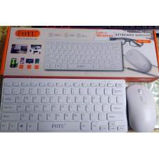Bezdrátový set klávesnice myš FOYU FO-D001