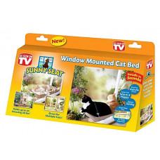 PELÍŠEK PRO KOČKY NA OKNO - WINDOW MOUNTED CAT BED