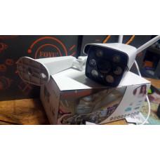 Bezdrátová inteligentní wifi smart ip kamera voděodolná s přísvitem a nočním viděním