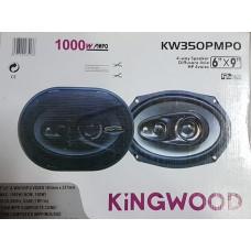 4 pásmové repro Kingswood 16x24cm oválné 1000W