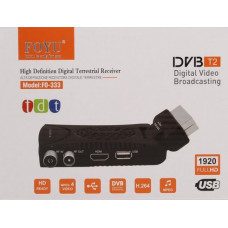 DIGITÁLNÍ SETOBOX FULL HD DVB-T/T2 FOYU FO-333