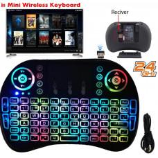 Mini bezdrátový keyboard klávesnice s touchpadem  k PC nebo TV