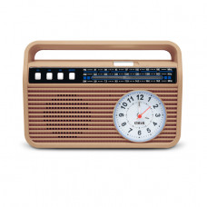 RUSTIKÁLNÍ RETRO RADIO S BLUETOOTH MP3 FM AM USB TF CARD